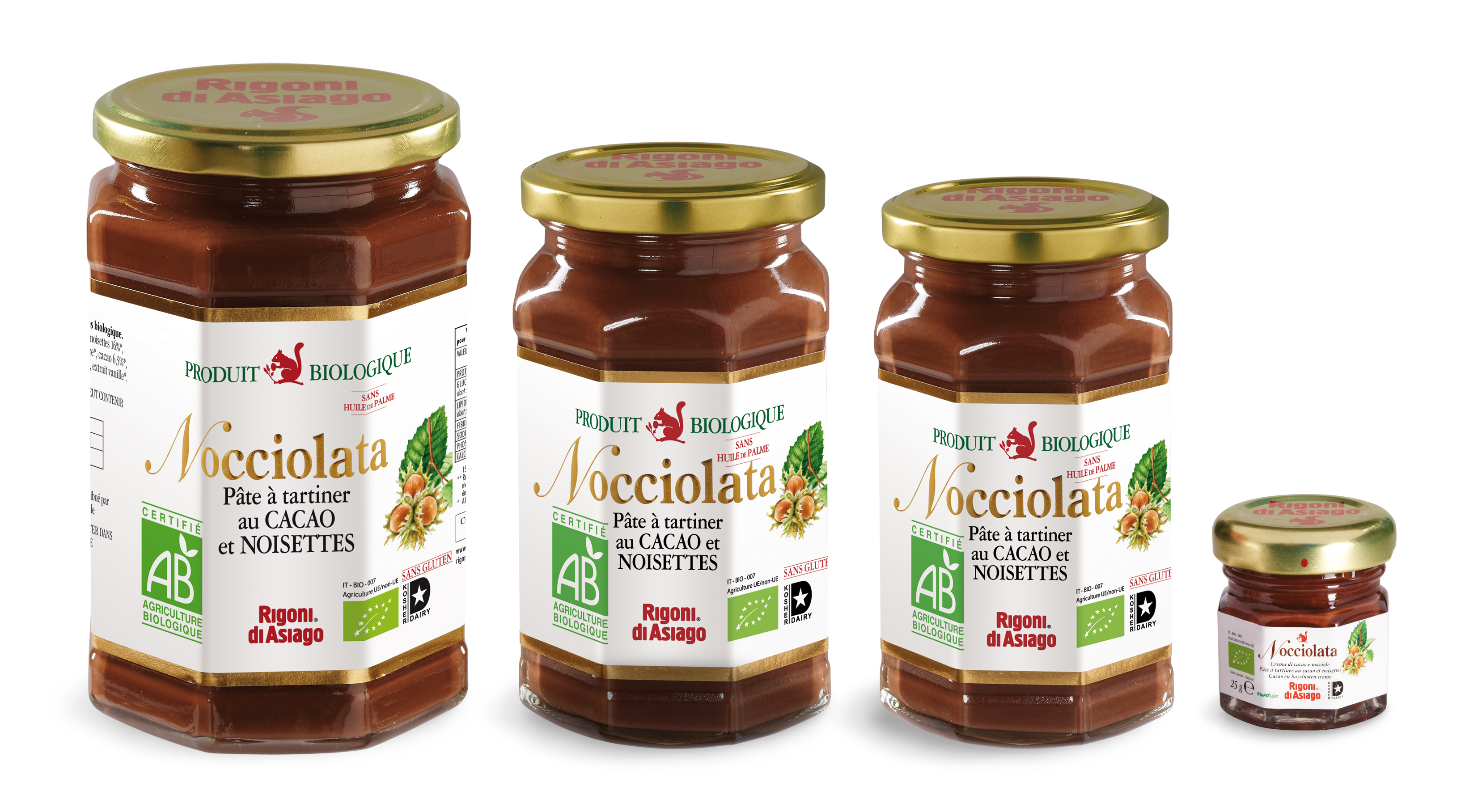 nocciolata - the pate a tartiner chocolat noisette bio comme le nutella